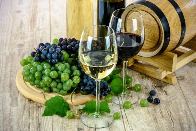 Sudová vína z Moravy podoblast Mikulovská